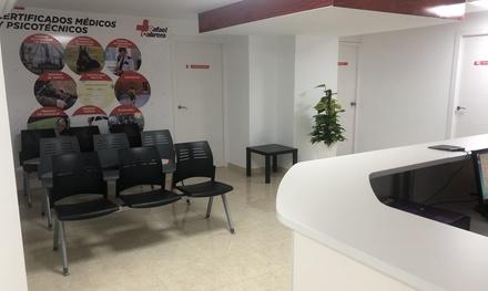 1 o 2 certificados médicos psicotécnicos para conducción y otros desde 16,95 € en CRM Rafael Cabrera