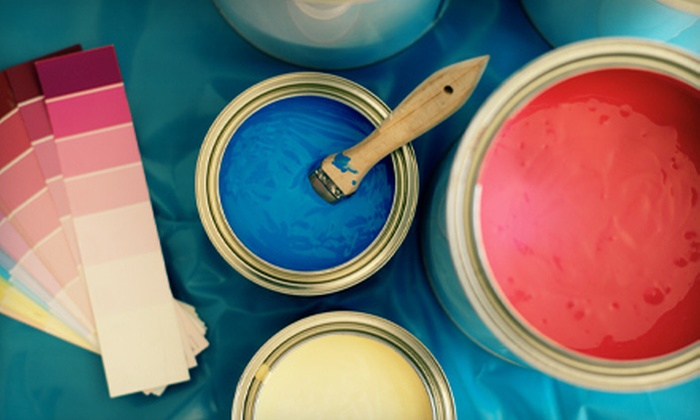 ColorTrends Painting - Hanna Farm Neighbors: $85 for Interior Painting for One Room from ColorTrends Painting ($195 Value)
