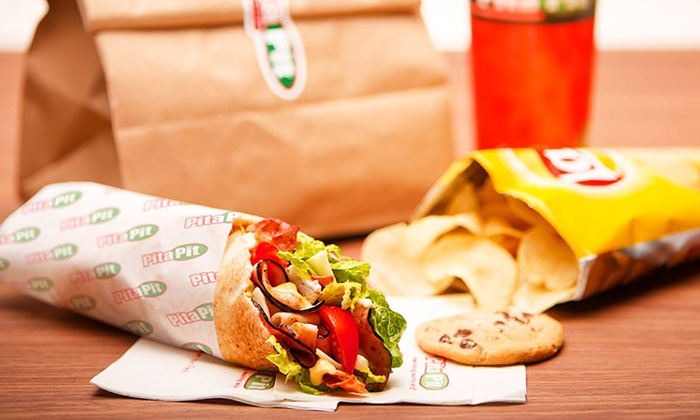 The Pita Pit - Fort Myers - Multiple Locations: $12 for $20 Worth of Make-Your-Own Pitas at The Pita Pit in Fort Myers