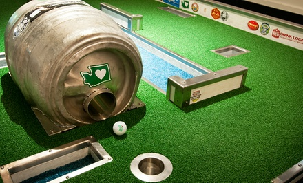 $29 for Two Pints, Two Rounds of Mini Golf, and a Growler at Flatstick Pub ($50 Value)