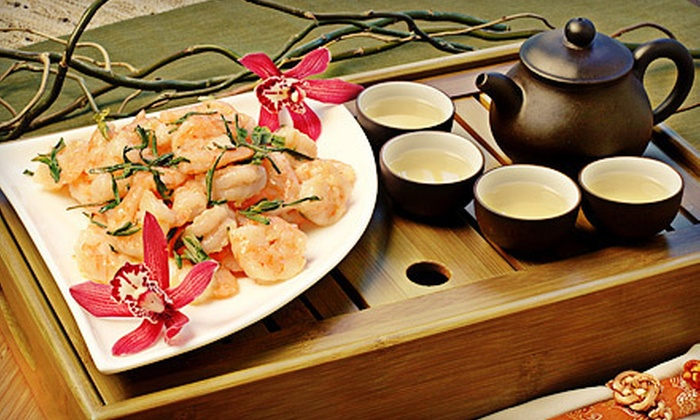 Dragonwell Bistro - Downtown Portland: Traditional Chinese Meal with Appetizers, Soups, and Entrees for Two or Four at Dragonwell Bistro (Up to 56% Off)