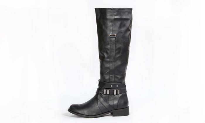 Bucco Women's Riding Boots: Bucco Women's Riding Boots.