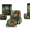 Kidaroo Backpack and Lunchbox Set with Interchangeable Designs