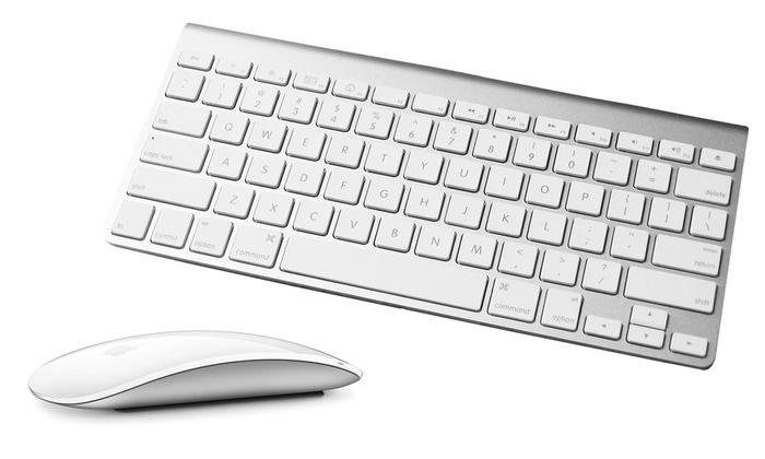 apple wireless mouse or keyboard groupon goods. Black Bedroom Furniture Sets. Home Design Ideas