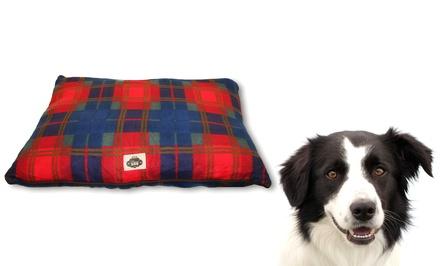 Plaid Fleece Pet Pillow