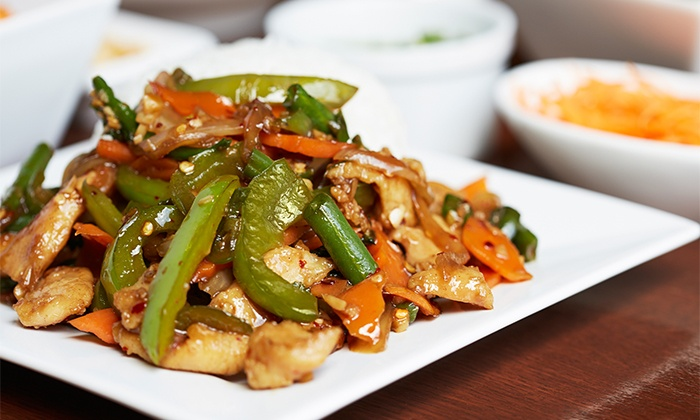 Khao Suay Thai - Naperville: Thai Food at Khao Suay Thai (Up to 35% Off). Two Options Available.