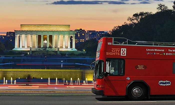 Washington Dc Tour Bus >> Citysights Dc