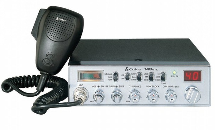 Cobra 40-Channel 12-Watt CB Radio (Manufacturer Refurbished)