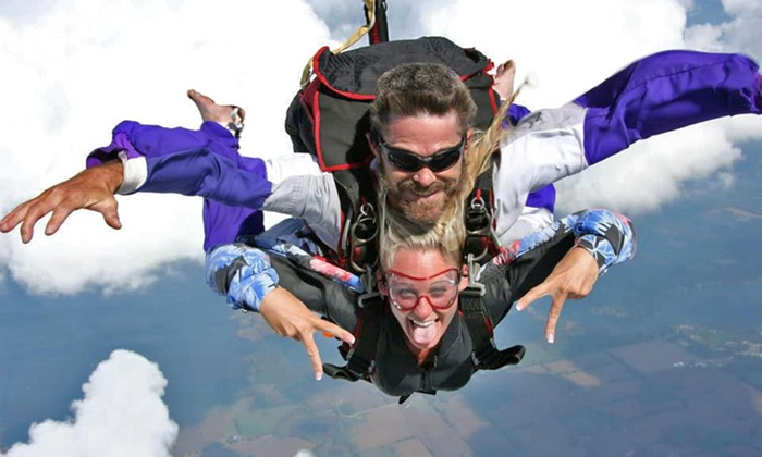 Gravity Powered Sports - Jackson: Solo or Tandem Skydive for One or Two People at Gravity Powered Sports (Up to 40% Off)