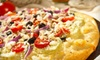 Jiffy Shoppes - Bethesda: Gyro Dinner with Wine for Two or $10 for $20 Worth of Subs, Pizza, and Greek Specialties at Jiffy Shoppes (Up to 51% Off)