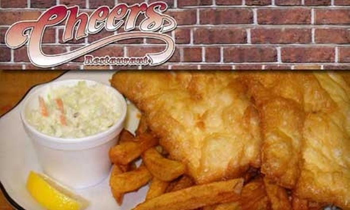Cheers Restaurant - Welland: $10 for $20 Worth of Pub Fare and Drinks at Cheers Restaurant