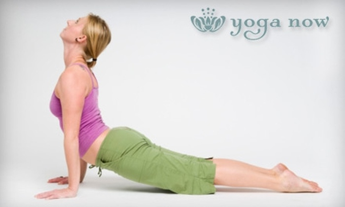 Yoga Now - Chicago: $49 for One Month of Unlimited Classes at Yoga Now ($150 Value)