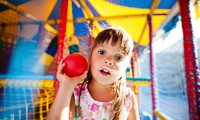 Kids Soft Play Entry for Up to Three Children at Bijou