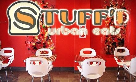 $12 Groupon to Stuff'd Urban Eats - Stuff'd Urban Eats in Kingston