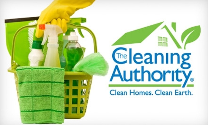 The Cleaning Authority - Grover: $90 for Three Hours of Green Home Cleaning from The Cleaning Authority ($210 Value)