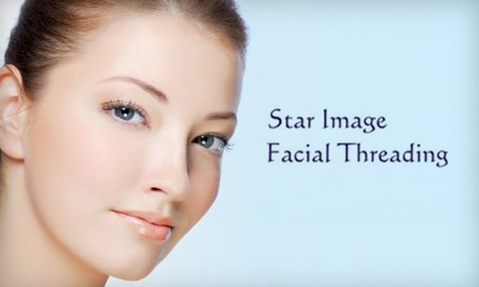 Star Image Facial Threading - Belmont: $25 for Full-Face Threading Including Eyebrow Shaping at Star Image Facial Threading in San Mateo ($50 Value)