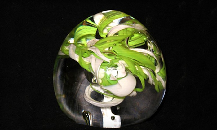 Glass By James Michael - Dayton: $49 for a Glass-Blowing Class at Glass by James Michael ($100 Value). 14 Dates Available.