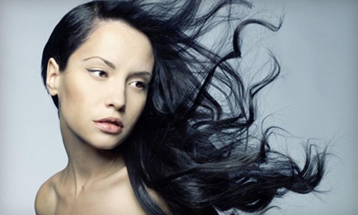 Salon Xcess - East Village: $75 Worth of Hair and Nail Services