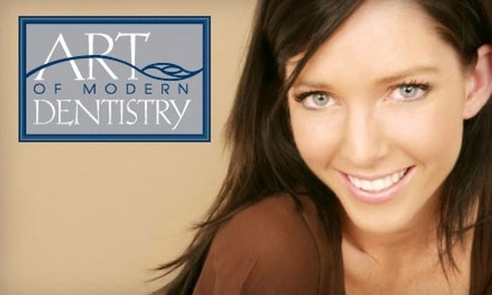 Art of Modern Dentistry - Multiple Locations: $148 for Contrast Laser Whitening Treatment at Art of Modern Dentistry