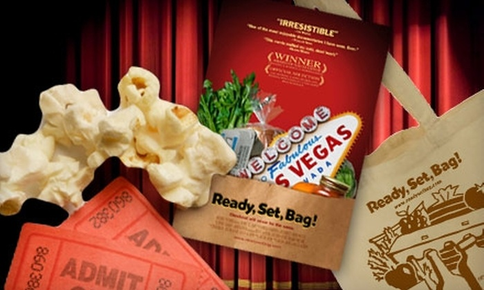 """""""Ready, Set, Bag!"""" - Auraria: $12 for Two Movie Tickets and Large Popcorn to """"Ready, Set, Bag!"""" at Starz FilmCenter ($36 Value). Choose from 16 Showtimes."""