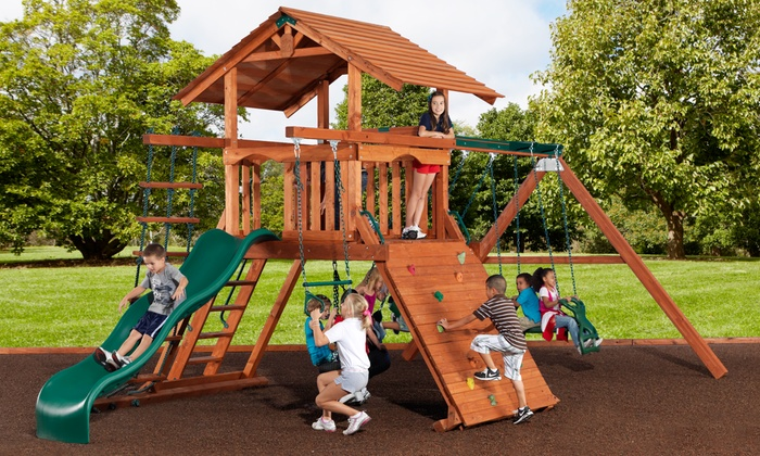 Backyard Adventures - Birmingham - Chelsea: $49 for $100 Worth of Swing Sets and Accessories from Backyard Adventures