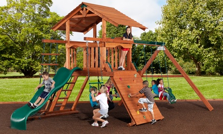 $42 for $100 Worth of Swing Sets and Accessories from Backyard Adventures