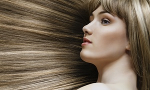 Maria Montellano @ Cabelos Salon: Brazilian Blowout and Haircut from Maria Montellano at Cabelos Salon (45% Off)