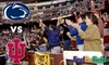 Washington Redskins - 13, Kent: Up to 56% Off Tickets to the Penn State vs. Indiana Game at FedExField on November 20.  Choose from Two Premium Seating Options.