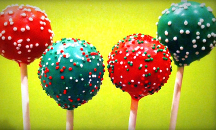 I Luv Cake Pops - Downtown: $30 for Two Dozen Holiday Cake Pops from I Luv Cake Pops ($60 Value)