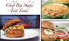 Chef Big Shake Fine Foods - Nashville: $30 for $60 Worth of Shrimp Burgers, Lobster Bisque, and Other Fine Foods from Chef Big Shake