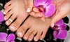 giggles on main - Newtown: $35 for Mani-Pedi at Giggles on Main (Up to $75 Value)