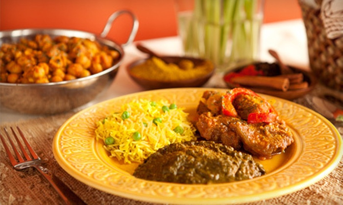 Chutney & Pickle Fine Indian Cuisine - Coral Springs City Center: Lunch or Dinner at Chutney & Pickle Fine Indian Cuisine in Coral Springs (Half Off)