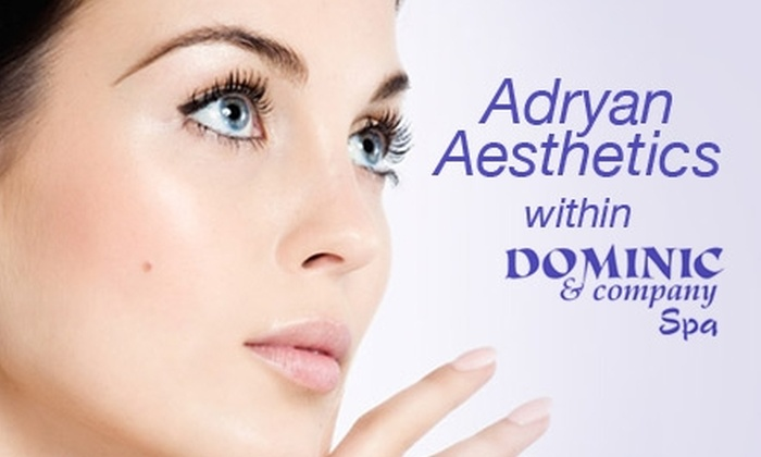 Adryan Aesthetics within Dominic and Company - Olentangy Commons: $50 for a Microdermabrasion Facial Plus Half Off a Mani-Pedi from Adryan Aesthetics