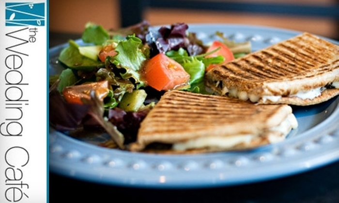 The Wedding Café - South Pandosy - K.L.O.: $5 for $10 Worth of Food and Coffee at The Wedding Café