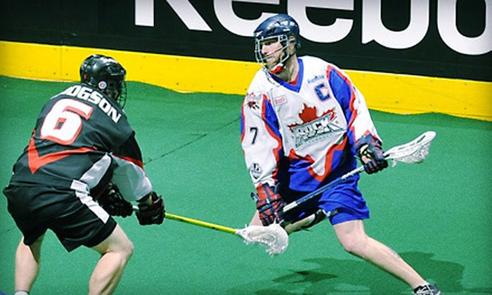 Toronto Rock Lacrosse Club - Downtown Toronto: $27 for Toronto Rock Lacrosse Club's East Division Final Playoff Game at the Air Canada Centre (Up to $76.90 Value)