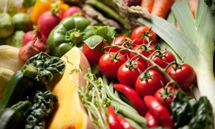 Urban Organic: $20 for One Box of Organic Produce with Delivery from Urban Organic (Up to $38.98 Value)