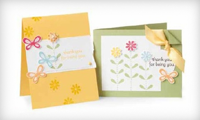 Independent Stampin' Up! Demonstrator Kelly Acheson - Multiple Locations: $12 for Two Craft Classes with Independent Stampin' Up! Demonstrator Kelly Acheson ($30 Value)