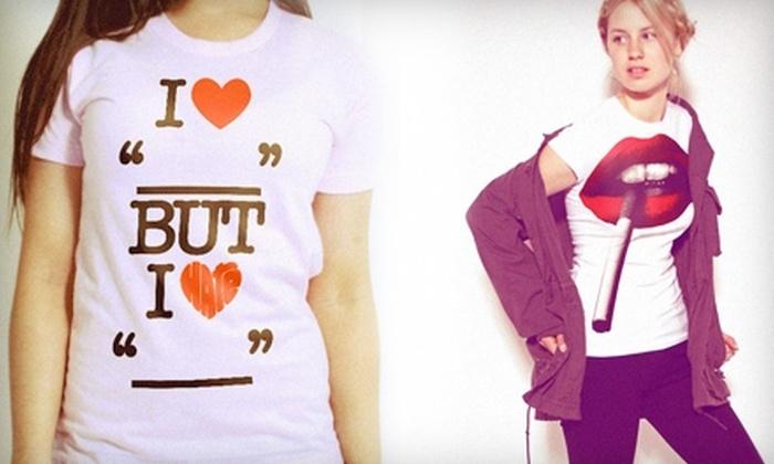 Bang-On T-Shirts - Kelowna: $15 for $30 Worth of Custom-Printed T-Shirts and Merchandise at Bang-On T-Shirts