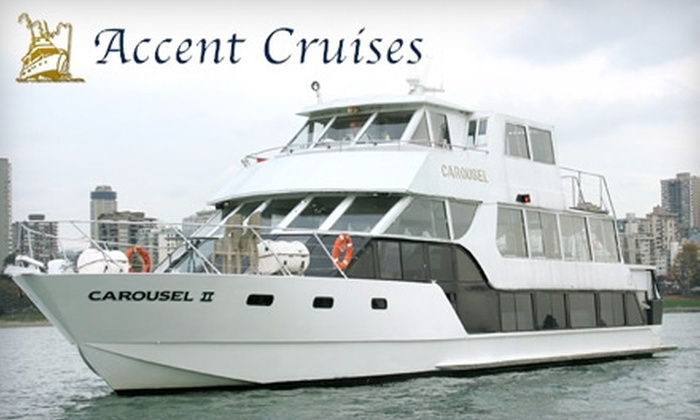 Accent Cruises - Fairview: $72 for Two Tickets and a Private Table on the Carol Ship Dinner Cruise with Accent Cruises ($144 Value)
