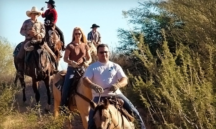 Pantano Riding Stables - Ward 4: $22 for a Sunset Horseback Ride at Pantano Riding Stables ($50 Value)