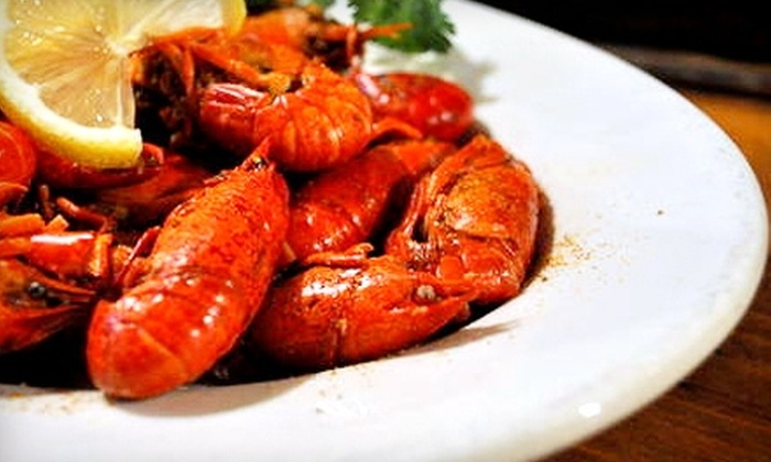 The Bayou Restaurant - North Side: $20 for $40 Worth of Cajun Fare and Drinks at The Bayou Restaurant in Mount Vernon
