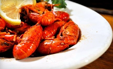 $40 Groupon to The Bayou Restaurant - The Bayou Restaurant in Mt. Vernon