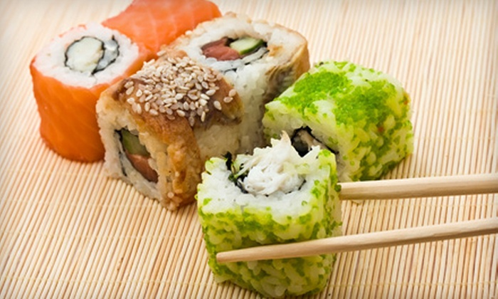 East Coast Sushi Buffet - Regency: $8 for $16 Worth of Asian Dinner Fare and Drinks at East Coast Sushi Buffet