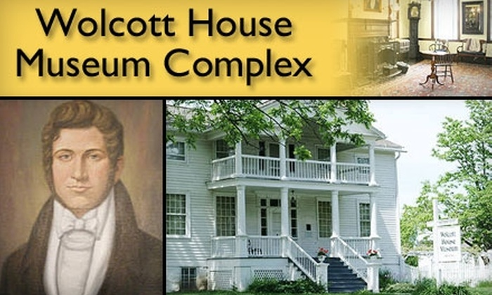 Wolcott House Museum Complex - Maumee: $5 for Two Adult Tickets to the Wolcott House Museum Complex