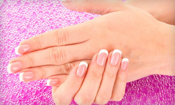 Salon 8736 - Perry Hall: One or Two Shellac Manicures or Shellac Manicure with Paraffin Treatment at Salon 8736 in Nottingham (Up to 61% Off)