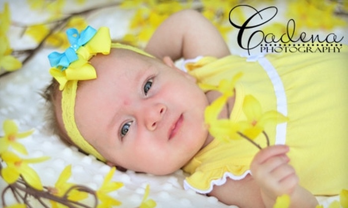 Cadena Photography - Bakersfield: $35 for a 45-minute Portrait Session and Prints from Cadena Photography ($335 Value)