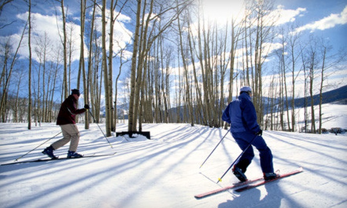 Rim Nordic Ski Area - Running Springs: Cross-Country Skiing or Snowshoeing Expedition for One or Two at Rim Nordic Ski Area in Running Springs (Up to 54% Off)