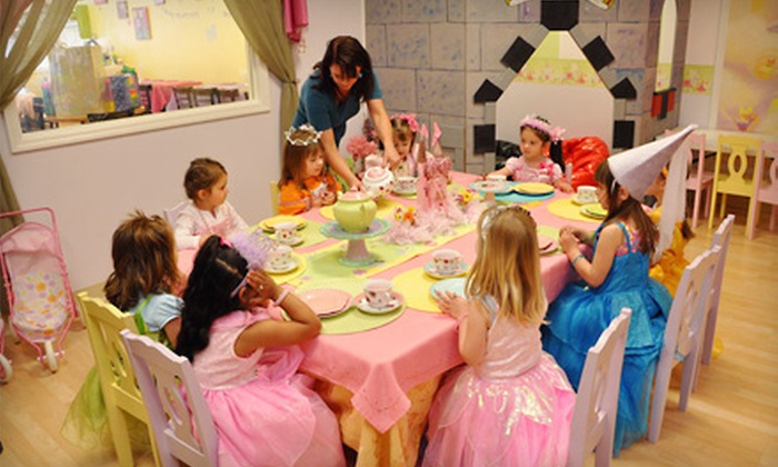 Tiny Tots Tea Room - Clifton Park: Open-Play Package for One Child Including Two Meals or a 10-Visit Play Pass at Tiny Tots Tea Room in Clifton Park