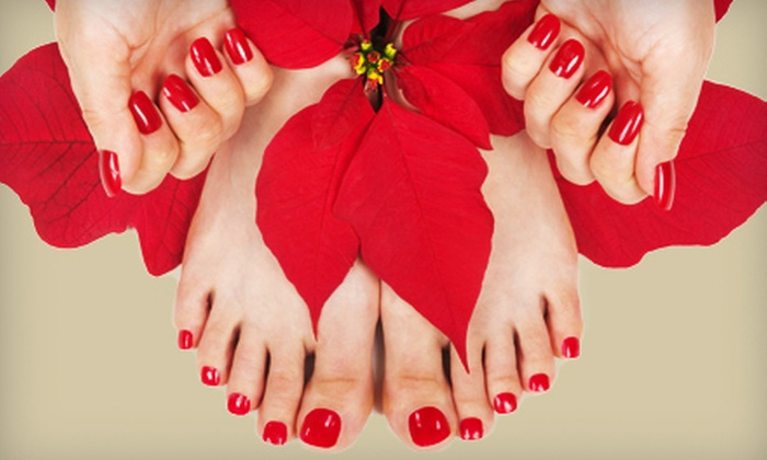 Prima Donna Hair Salon and Spa - Alamogordo: Shellac Nail Treatment with Optional Makeup Application at Prima Donna Hair Salon and Spa in Alamogordo (Up to 69% Off)