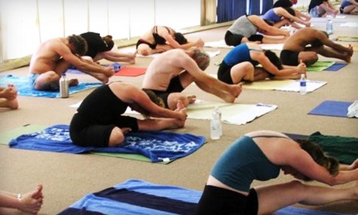 Bikram Yoga Asheville - Asheville: $39 for 10 Bikram Yoga Classes and Mat Rental for First Class at Bikram Yoga Asheville